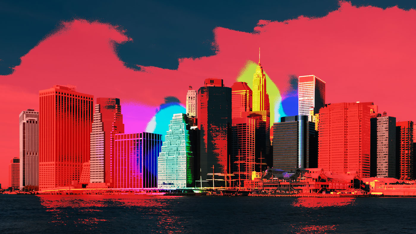 Downtown Manhattan | digital art