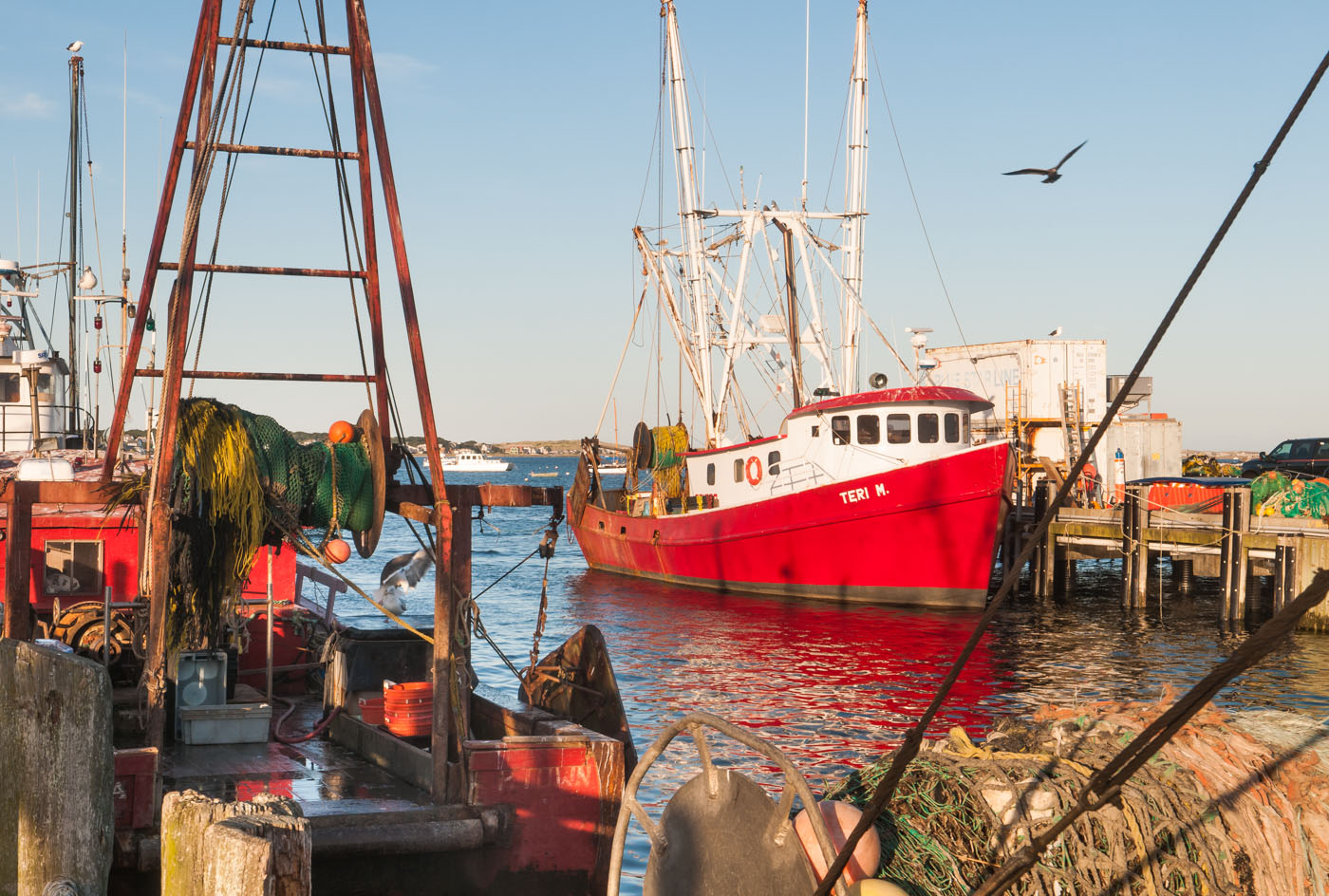 Fisherboats at Provincetown Harbor | Massachusetts