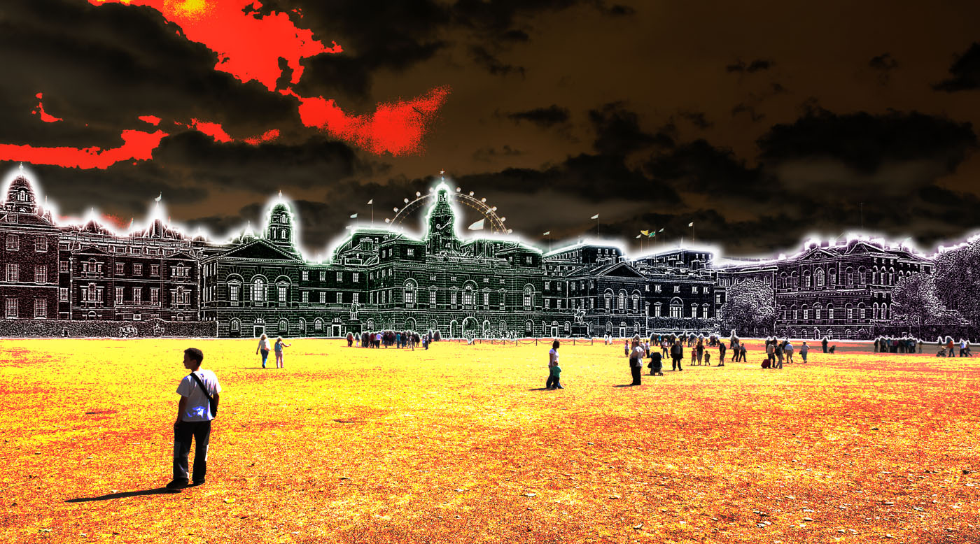 Horse Guards Parade | London | digital art