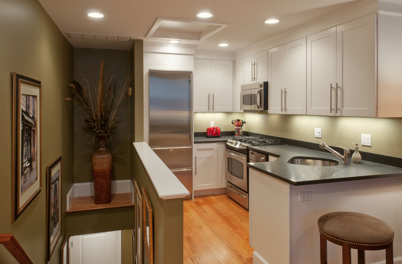 Kitchen interior | Boston Back Bay
