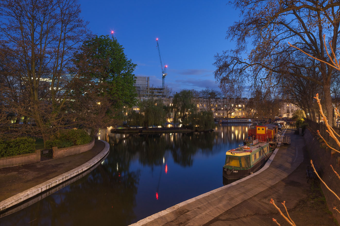 Little Venice north of Paddington