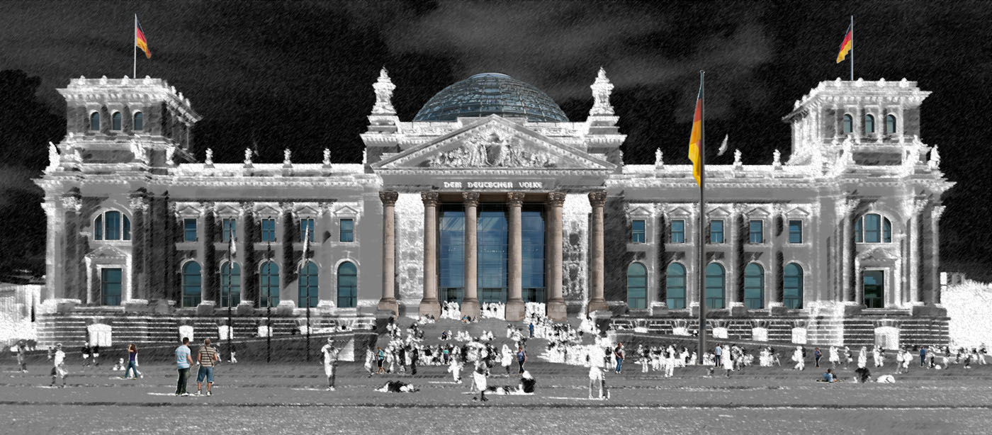 Reichstag Berlin | Germany | digital art
