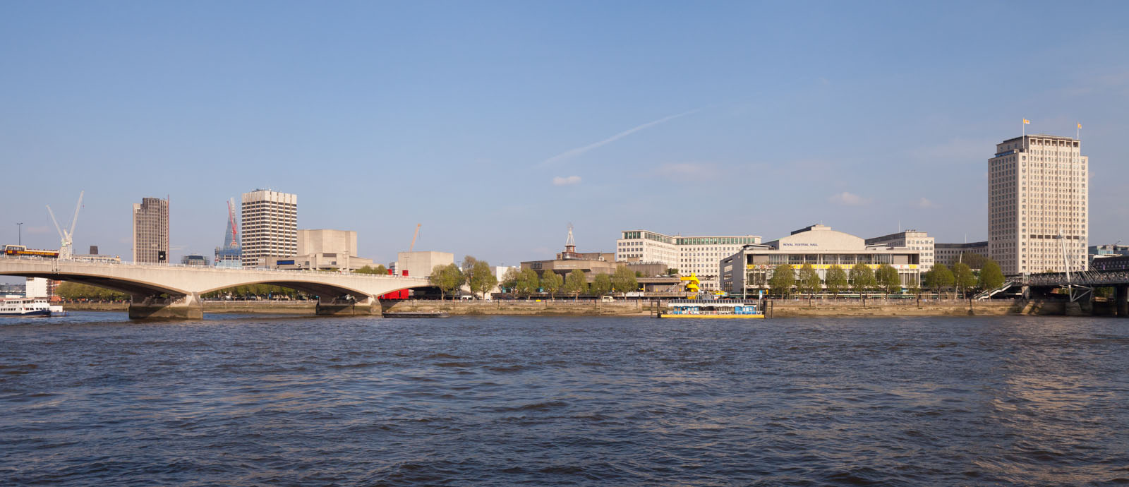 Southbank Center and Thames