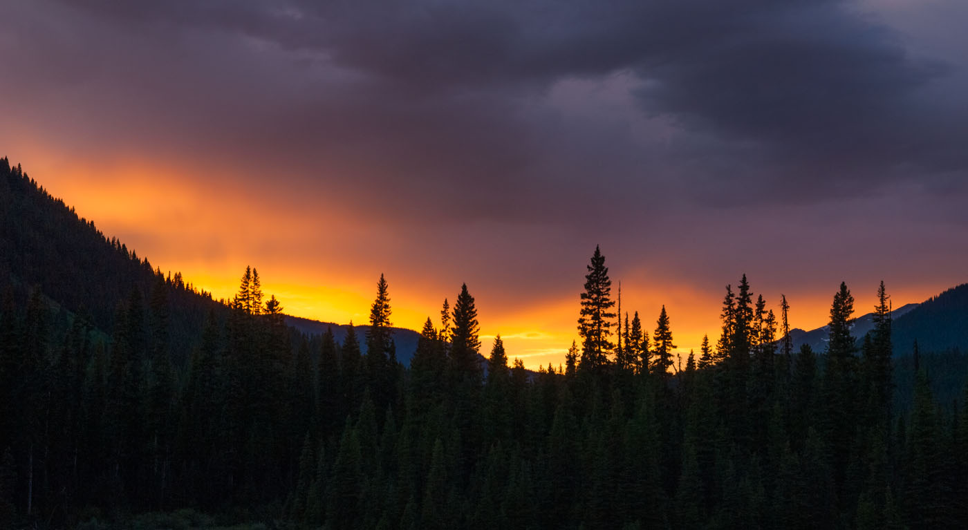 Sunset at Kootenay NP | British Columbia | Canada