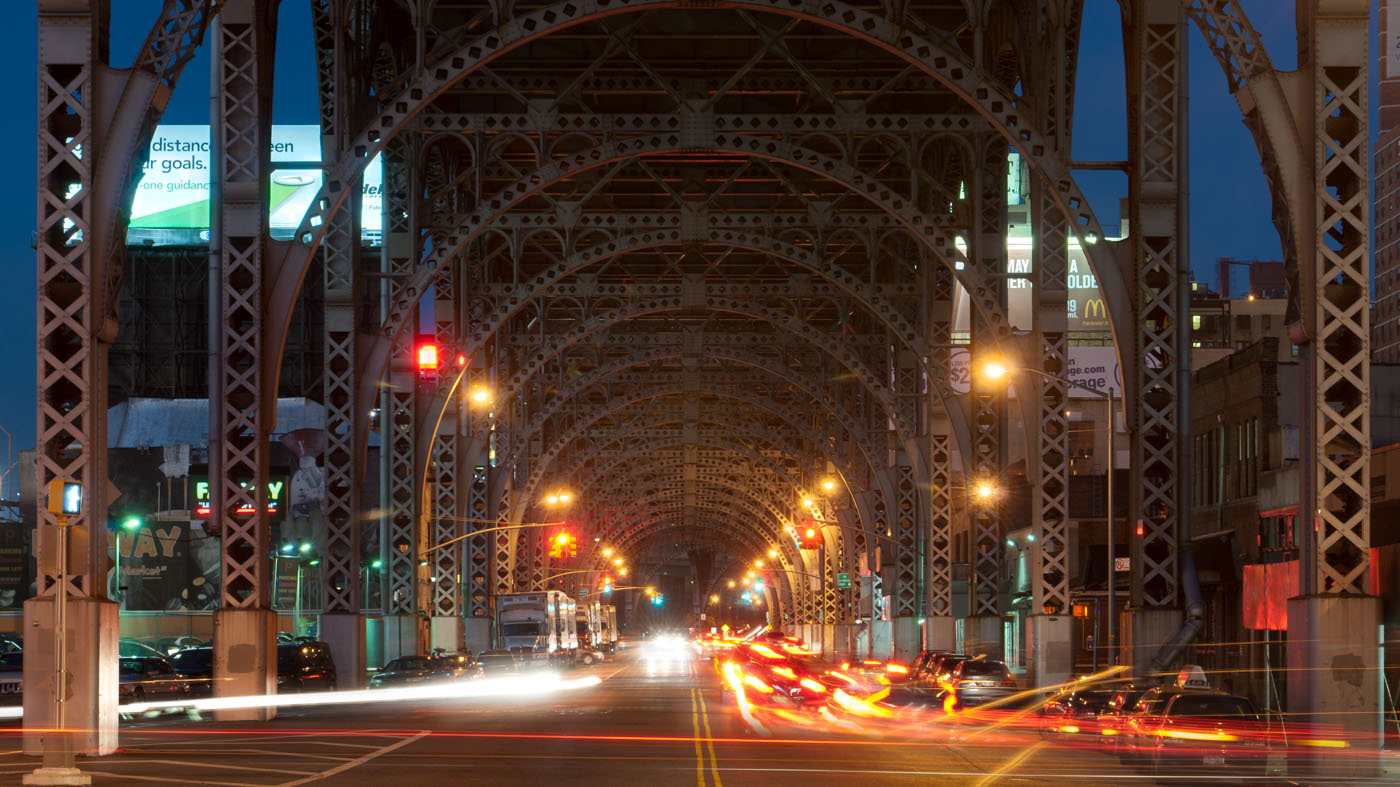 Underneath Riverside Drive | New York